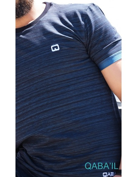 Tee Shirt Nautik Up Indigo-Qaba'il