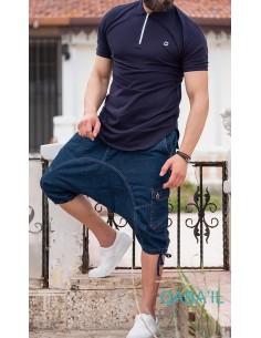 Sarouel Short Bleu -Qaba'il