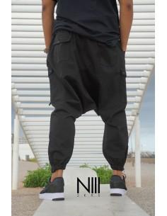 Sarouel Para 3 Noir-NIII