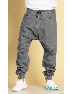 Sarouel Jeans Next Gris-Qaba'il