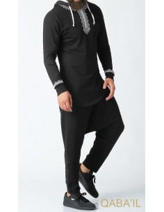 Sweat Etniz Marocain Noir-Qaba'il