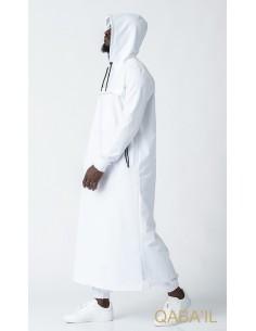 Qamis Furtif Blanc-Qaba'il