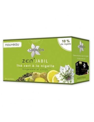 Thé vert à la nigelle - SAOUDA