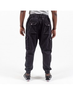 Pantalon Jeans Cargo Black-Dc Jeans