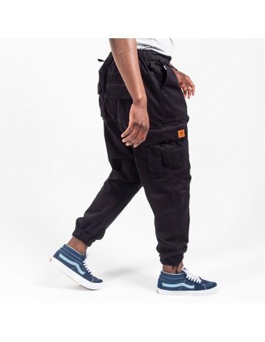 Pantalon Cargo Basic Black Usual Fit-Dc Jeans