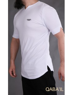 Tee Shirt Level Blanc-Qaba'il