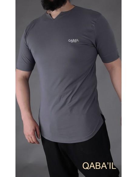Tee Shirt Lvel Gris-Qaba'il