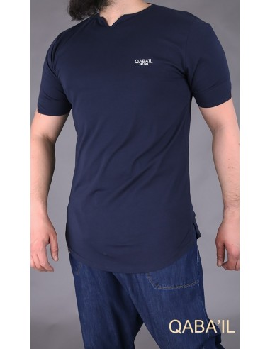 Tee Shirt Level Bleu Nuit-Qaba'il