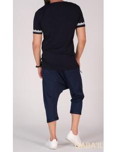 Tee Shirt Etniz Bleu Nuit-Qaba'il