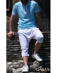 Tee Shirt Etniz Bleu Ciel-Qaba'il