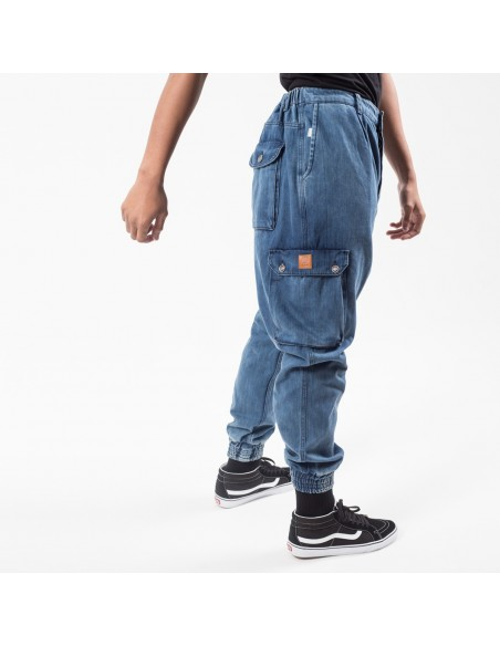 Pantalon Jeans Cargo Usual Fit Light-Dc Jeans