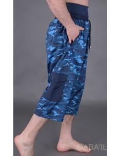 Sarouel De Bain Army Bleu-Qaba'il