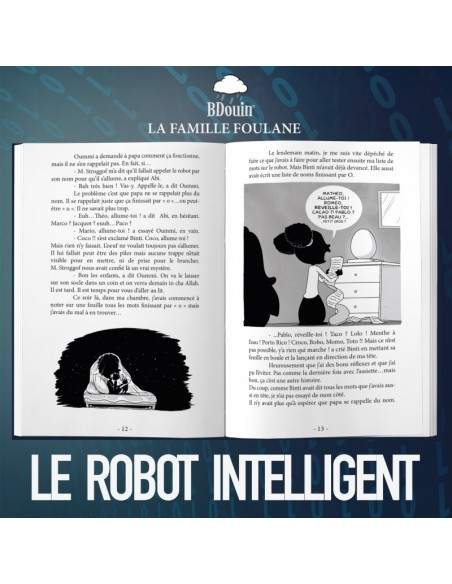 LaFamiile Foulane-T1 Le Robot intelligent