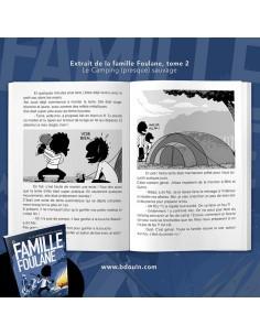 La Famille Foulane -T2 Camping (Presque) Sauvage