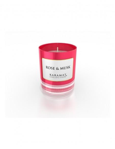 Bougie Parfumée Rose-Collection Karamat