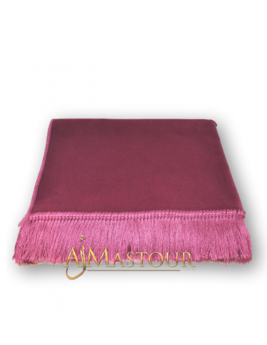 Tapis de prière de haute gamme rose