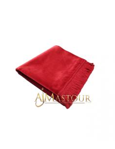 Tapis de Priére de Haute Qualité Rouge