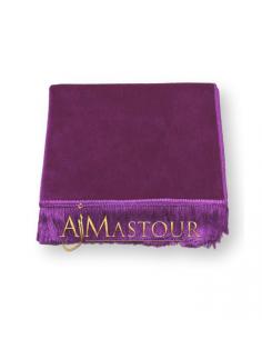 Tapis de Prière Haute Qualité Violet