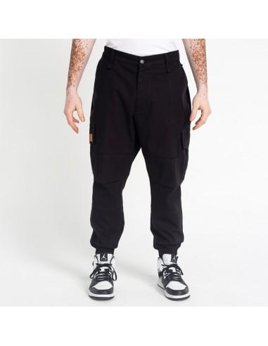 Saroeul Cargo Noir-Dc jeans