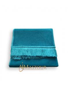Tapis de Priére bleuté Haute Qualité