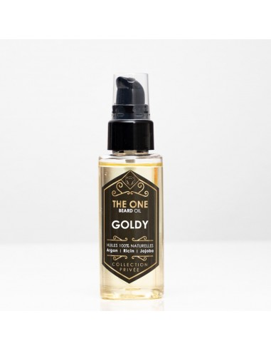 Huile pour barbe Goldy