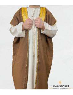 Bisht Enfant Marron