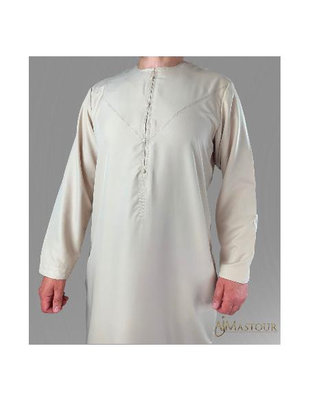 Qamis Custom Qamis émirati beige