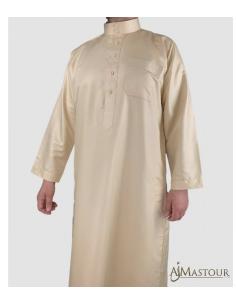 Qamis Saoudien Beige -Zein