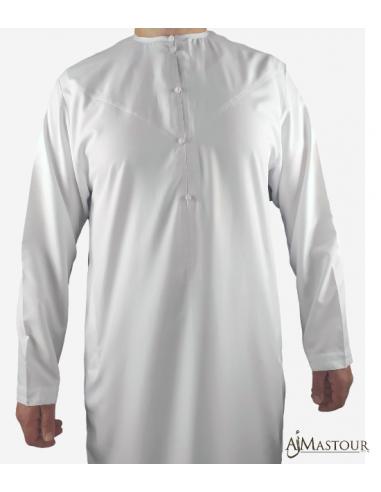 Qamis Emirati Blanc Spring -Emirats collection