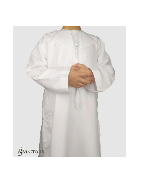 Qamis Enfant Bordeau-Custom Qamis