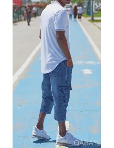Polo Zip UP Blanc - Qaba'il