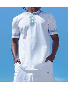 Tee - Shirt Etniz Blanc - Qaba'il