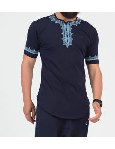 Tee-Shirt Eniz Bleu Clair - Qaba'il