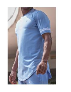 Tee-Shirt Etniz Bleu Clair - Qaba'il