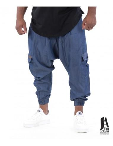 Sarouel Battle Bleu Jeans- Ibn Adam