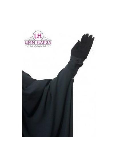 Jilbab 2 pièces à clips Gris - Umm Hafsa
