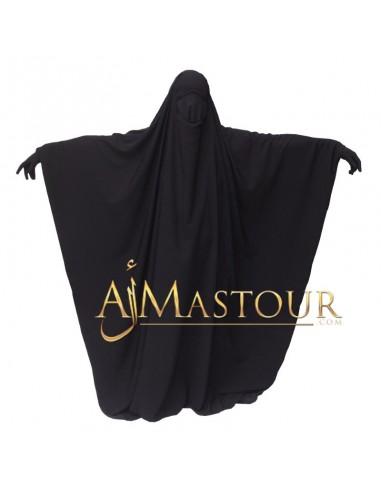 Jilbab saoudien Assalafiyat Noir