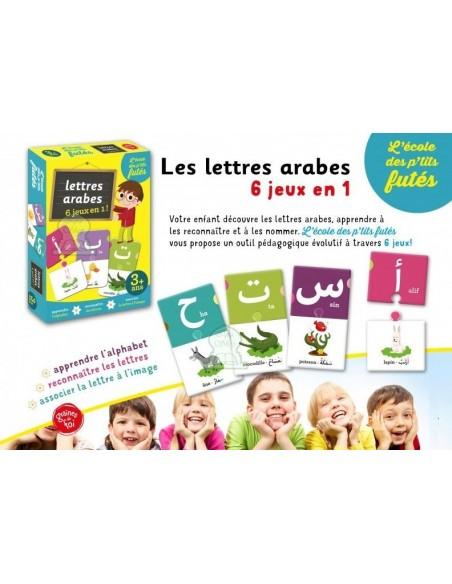 Lettre arabes 6 jeux en 1
