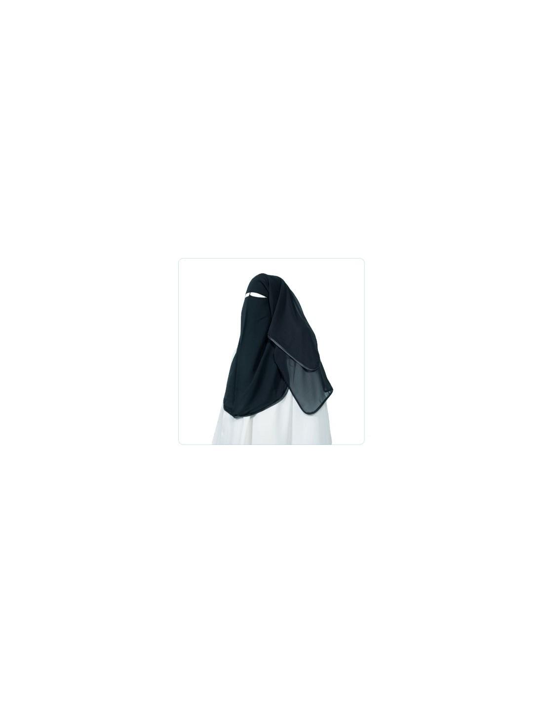 niqab 90 cm voile pas cher. Black Bedroom Furniture Sets. Home Design Ideas