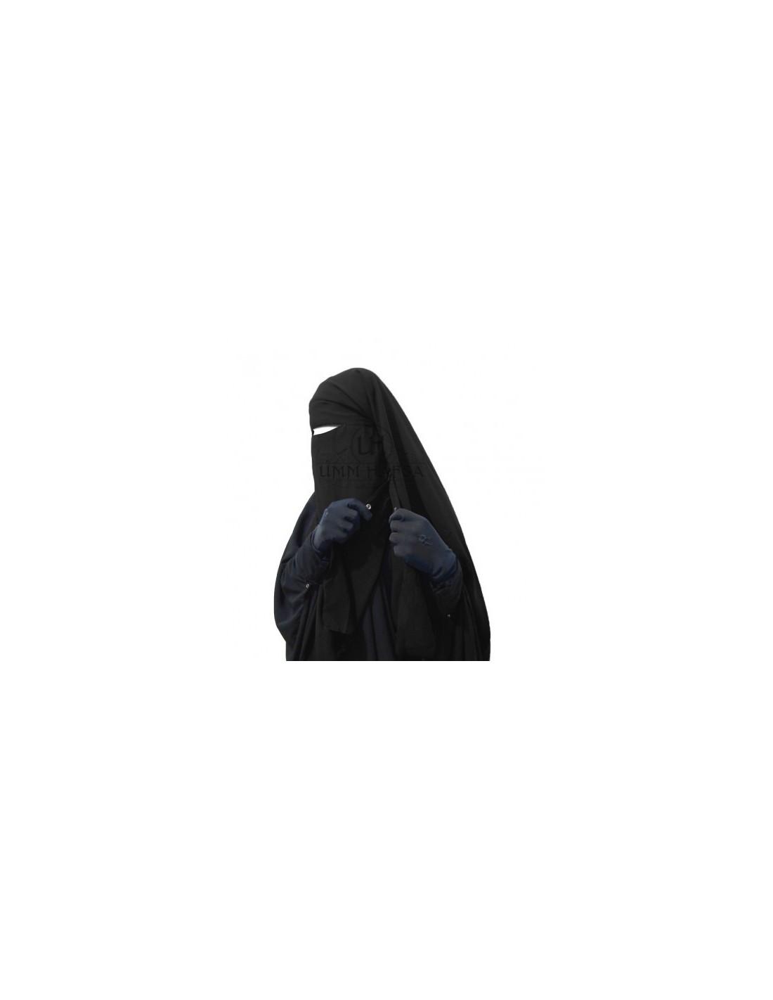 niqab clips umm hafsa pas cher v tement islamique. Black Bedroom Furniture Sets. Home Design Ideas